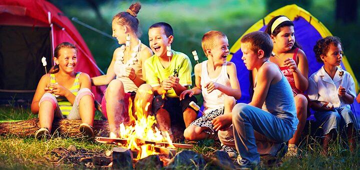 12 дней отдыха для ребенка в палаточном детском лагере «Робинзония»