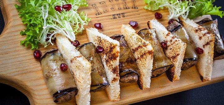 Скидка 50% на меню кухни в ресторане «Adjika»