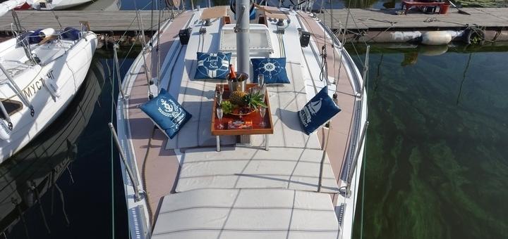Скидка до 33% на прогулку в будние дни на круизной парусной яхте «Воля»