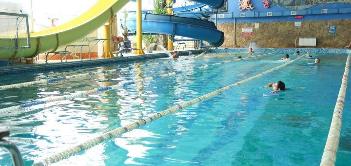 Скидка 60% на отдых у аквазоны в воскресенье для детей и взрослых в фитнес-центре «Волна»