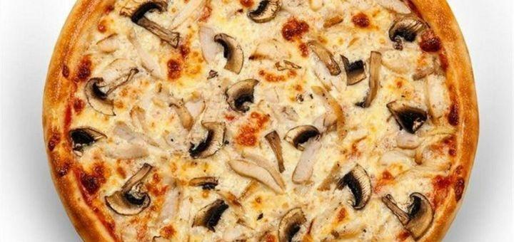 Скидка 50% на все меню пиццы в пиццерии «Ланч Pizza»