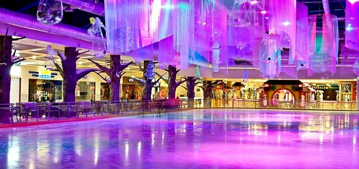 Скидка 30% на входной билет на посещение ледового катка в любой день в ТРЦ «Dream Town 1»