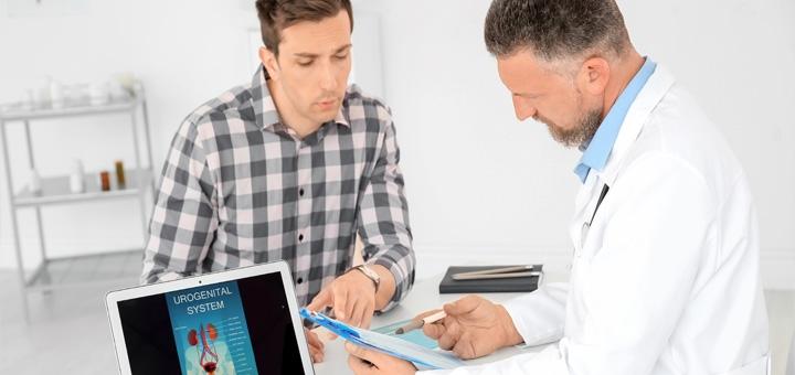 Комплексное обследование у уролога в медицинском центре «EvoClinic»