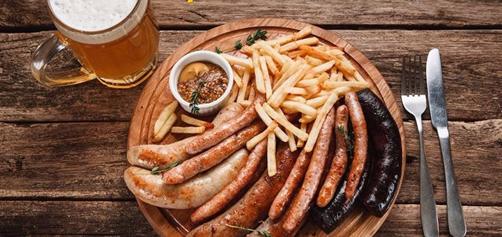 Скидка 40% на все меню кухни в пивном ресторане «Pivobar» на Бакулина