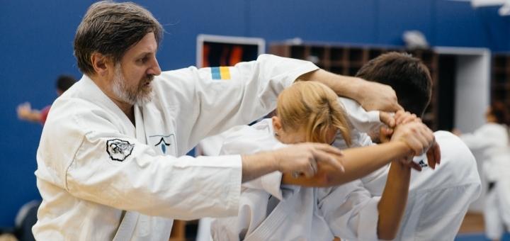 До 12 профессиональных занятий айкидо для взрослых в клубе «Айкидо Kiev Misogi»