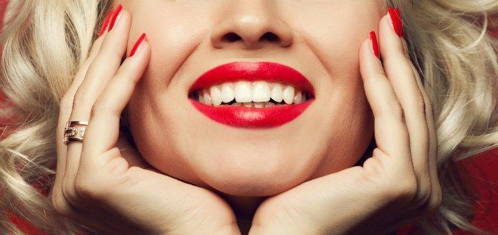 Комплексная ультразвуковая чистка зубов «EMS Швейцария» в «Giorno Dentale»