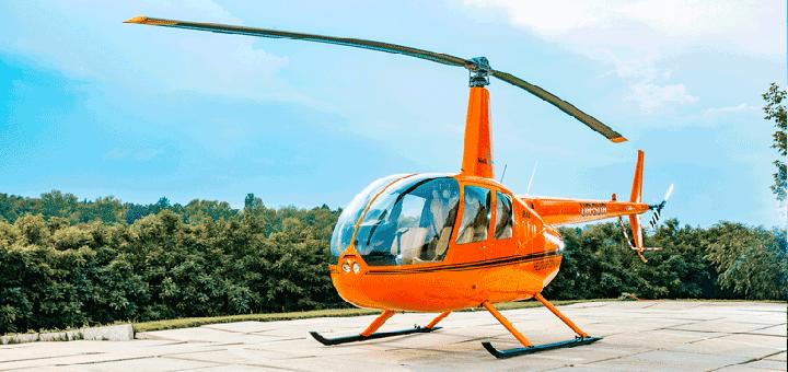 Скидка до 69% на обзорный полёт на вертолете от авиакомпании «heli.com.ua»
