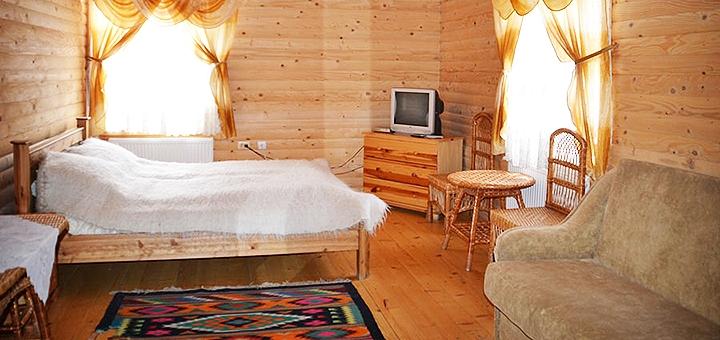 От 3 дней осеннего отдыха с питанием в отеле «Пацьорка» вблизи Буковеля