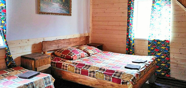 От 3 дней отдыха осенью в частной усадьбе «Урочище Багончик» в Ворохте