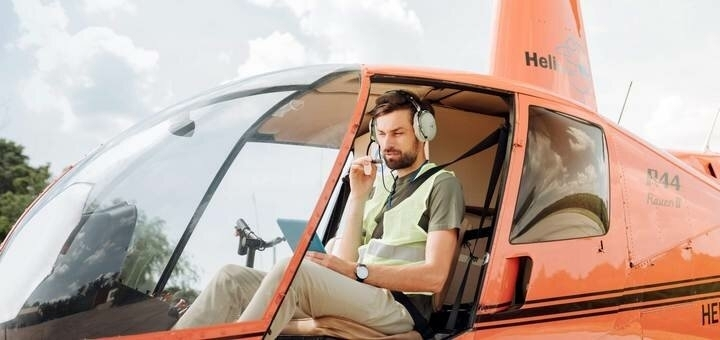 Скидка 68% на обзорный полёт для двоих на вертолете над Киевом от авиакомпании «heli.com.ua»