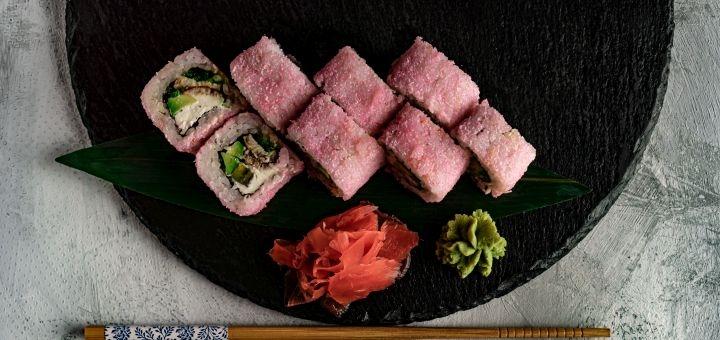 Знижка 40% на суші-сети від служби доставки «Tykami»