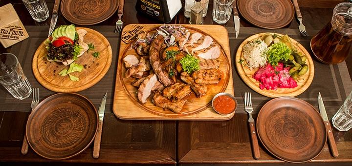 Знижка 40% на все меню кухні в стейк-хаусі «Тhе Гриль»