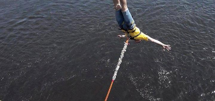 Скидка 50% на прыжок с пешеходного моста от «Без Меж»