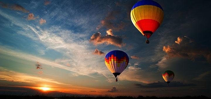 Скидка до 23% на полет над Киевом на воздушном шаре от компании «Небо для тебе»