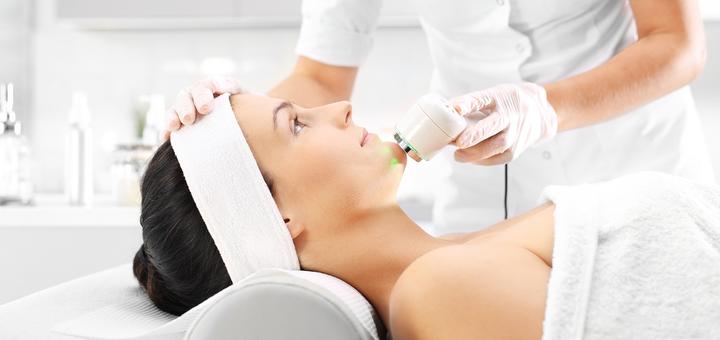 До 5 сеансов RF-лифтинга лица, шеи и зоны декольте от косметолога Белоус Елены в салоне «Fieke»