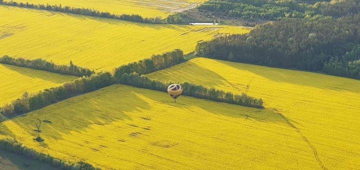 Скидка до 37% на полет на воздушном шаре над «Добропарк» от компании «Впечатления в подарок»
