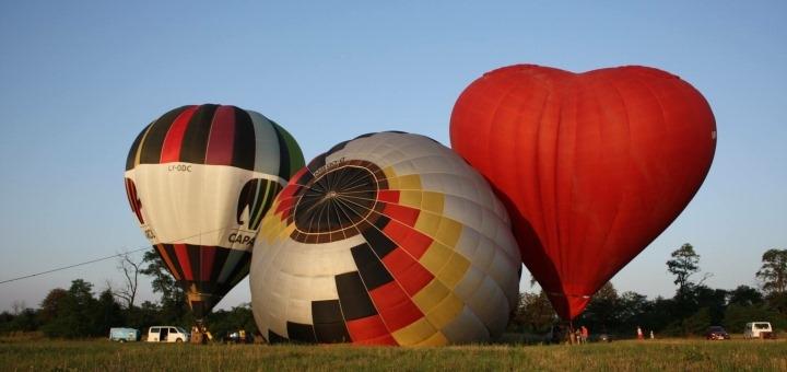 Скидка до 64% на полет на воздушном шаре на фестивале шаров от «Впечатления в подарок»