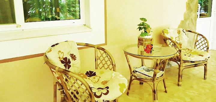 От 3 дней отдыха в сентябре в пансионате «Вилла Александра» в Железном Порту