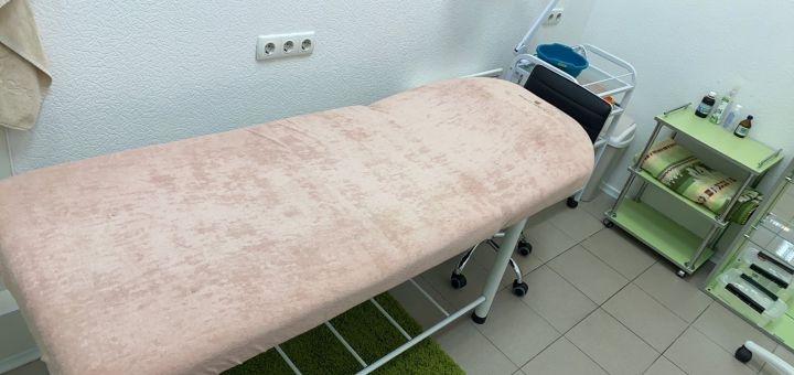 Восковая депиляция тела в «Клініка Гінека»