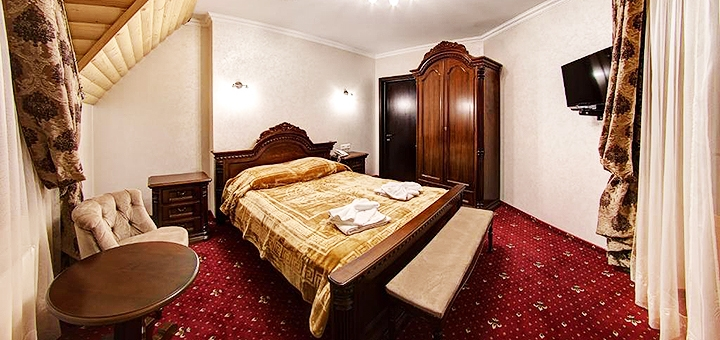 От 3 дней SPA-отдыха с завтраками в отеле «Горный Кристалл» в Буковеле