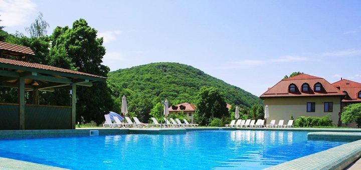От 3 дней отдыха с питанием, посещением SPA и чанов на курорте «Богольвар» в Закарпатье