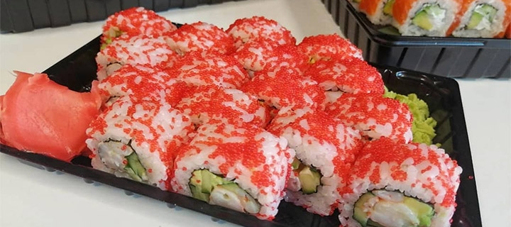 Скидки 50% на все суши-сеты с самовывозом от суши-бара «Mr. Sushi»