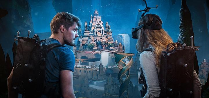 Посещение VR-игры с полным беспроводным погружением «Anvio» в будние дни от «VRtuality»