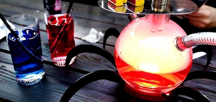 Фирменный кальян с чаем в кальянной «Pushka hookah»
