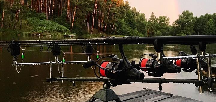 От 1 дня отдыха в будние дни с рыбалкой на базе отдыха «Рыбацкая стрелка» под Киевом
