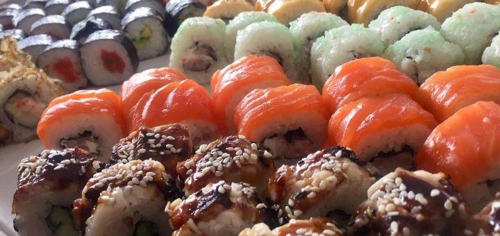 Скидка 50% на двухкилограммовый суши-сет «Mix» от магазина-ресторана японской кухни «Japanika»