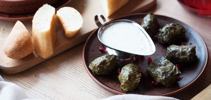 Скидка 50% на все меню кухни, домашнее вино и фирменные настойки в ресторане «One Gogi»