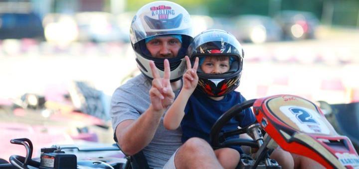 Скидка до 35% на заезды на картинге в картинг-клубе «SkyMall Karting Kiev»
