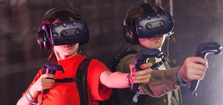 Посещение VR-квеста «Flexagon» для компании в парке digital-развлечений «VRtuality»