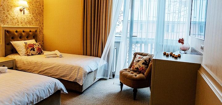 Від 4 днів відпочинку у преміум-готелі «Галант» у центрі Трускавця