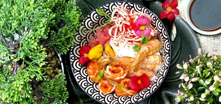 Скидка 50% на все меню кухни от службы доставки гавайской еды «Buddha Bowl»