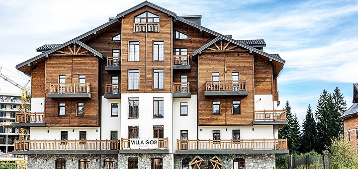 От 3 дней отдыха в апарт-отеле «Вилла гор» в Буковеле