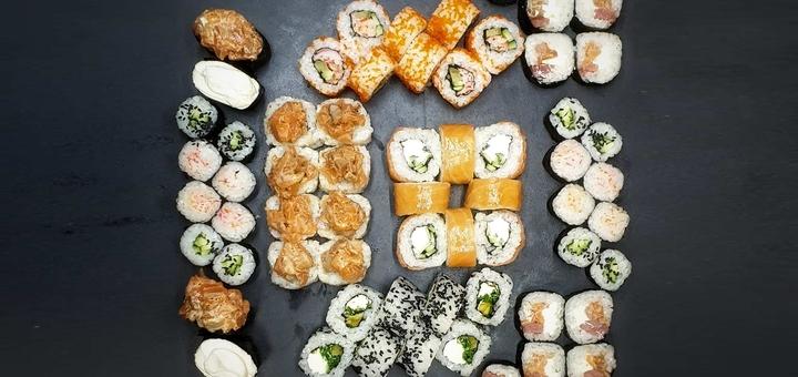 Скидка 50% на суши-сет «Сайтама» от службы доставки «White Roll»