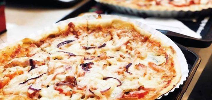 Скидка 50% на все меню пиццы от сети ресторанов «Burger Club»