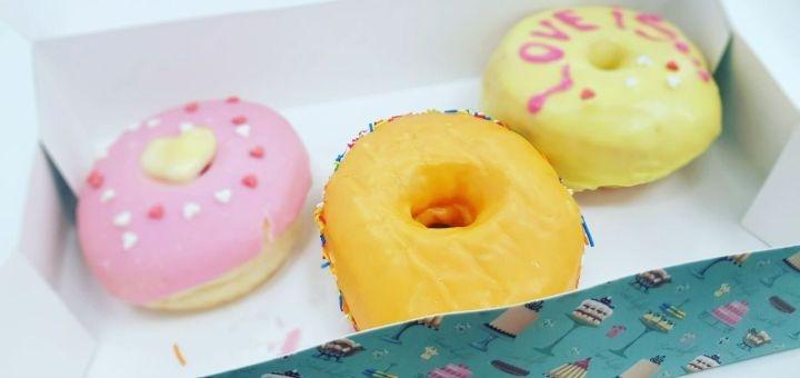 Скидка 50% на все меню кухни, пончики, берлинеры, чуросы в «Happy Donuts» на Нагорке