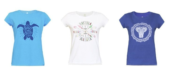 Готовимся к отпуску! Женские хлопковые футболки с оригинальным принтом!