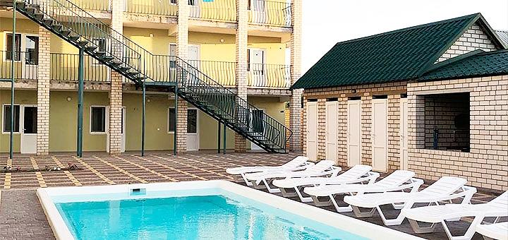От 3 дней отдыха в сентябре с посещением бассейна в пансионате «Экватор» в Железном Порту