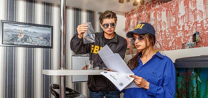 Посещение квест-комнаты «ФБР 2.0: академия убийства» от квеструма «QuestAnimo»