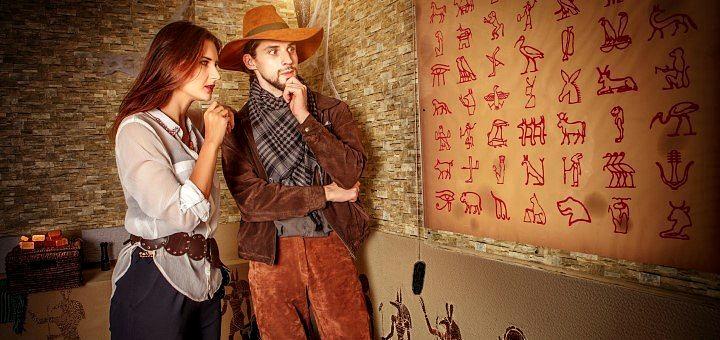 Посещение квест-комнаты «Гробница Фараона» от квеструма «QuestAnimo»