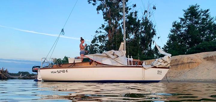 Скидка до 26% на мастер-класс по управлению яхтой «Рось»