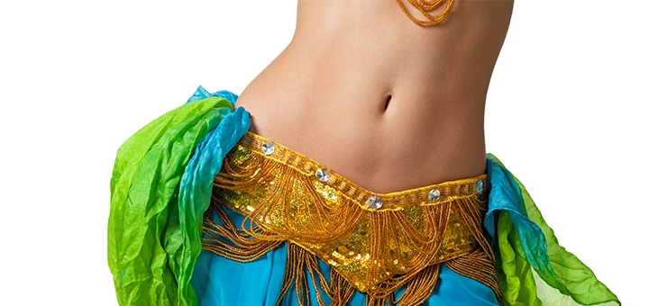 До 24 онлайн-занятий восточными танцами от студии танца «Арабия»