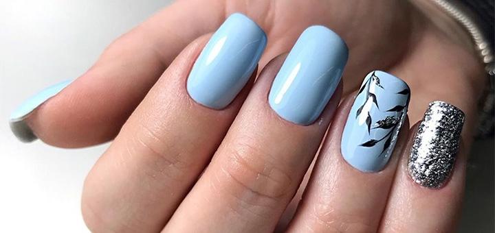 Наращивание ногтей с покрытием гель-лаком в студии ногтевого сервиса «Selfie nail club»
