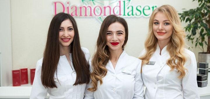 Лазерная фракционная шлифовка лица DOT therapy в клинике «Diamond Laser»