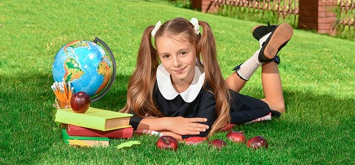 Выездная тематическая фотосессия «Школьная пора» от фотостудии «Konfeta»