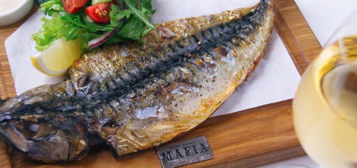 Скидка 50% на меню кухни в семейном ресторане «Mafia» на Ярослава Мудрого