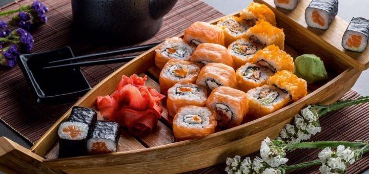 Скидка 50% на меню кухни в ресторане «Якитория» в ТРК «Украина»
